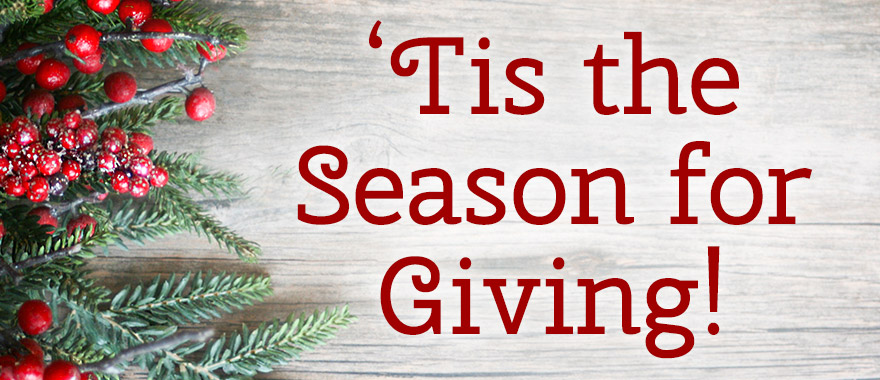 the season for giving graphic