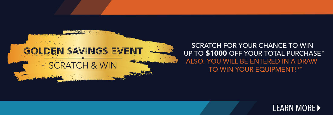 Scratch for your chance to win up to $1000 off your total purchase