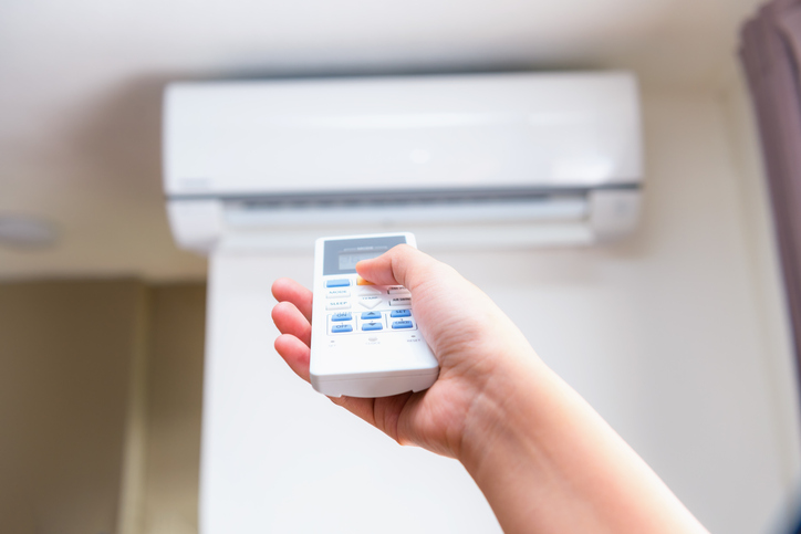 ductless air conditioner with remote
