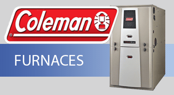 Coleman gas and propane furnaces