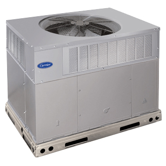 Carrier 48VRA packaged hybrid heat md