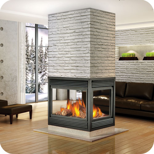 Continental fireplaces natural vent gas fireplace