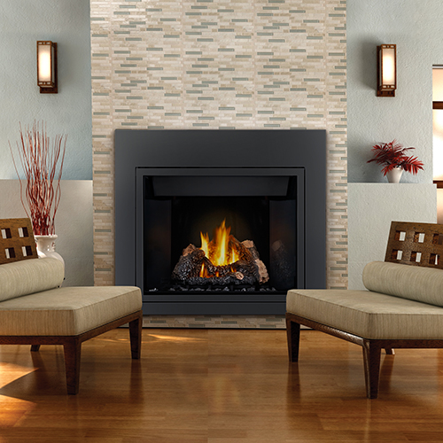 Direct vent gas fireplace installed in Oakville