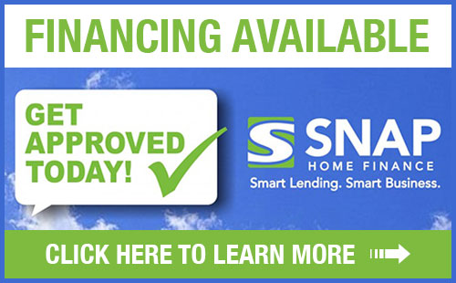 Financing Available from SNAP! Click here to learn more!