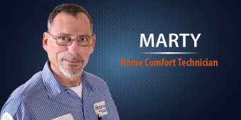 Marty - Home Comfort Technician