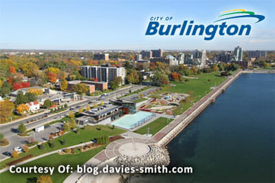 Burlington Area waterfront