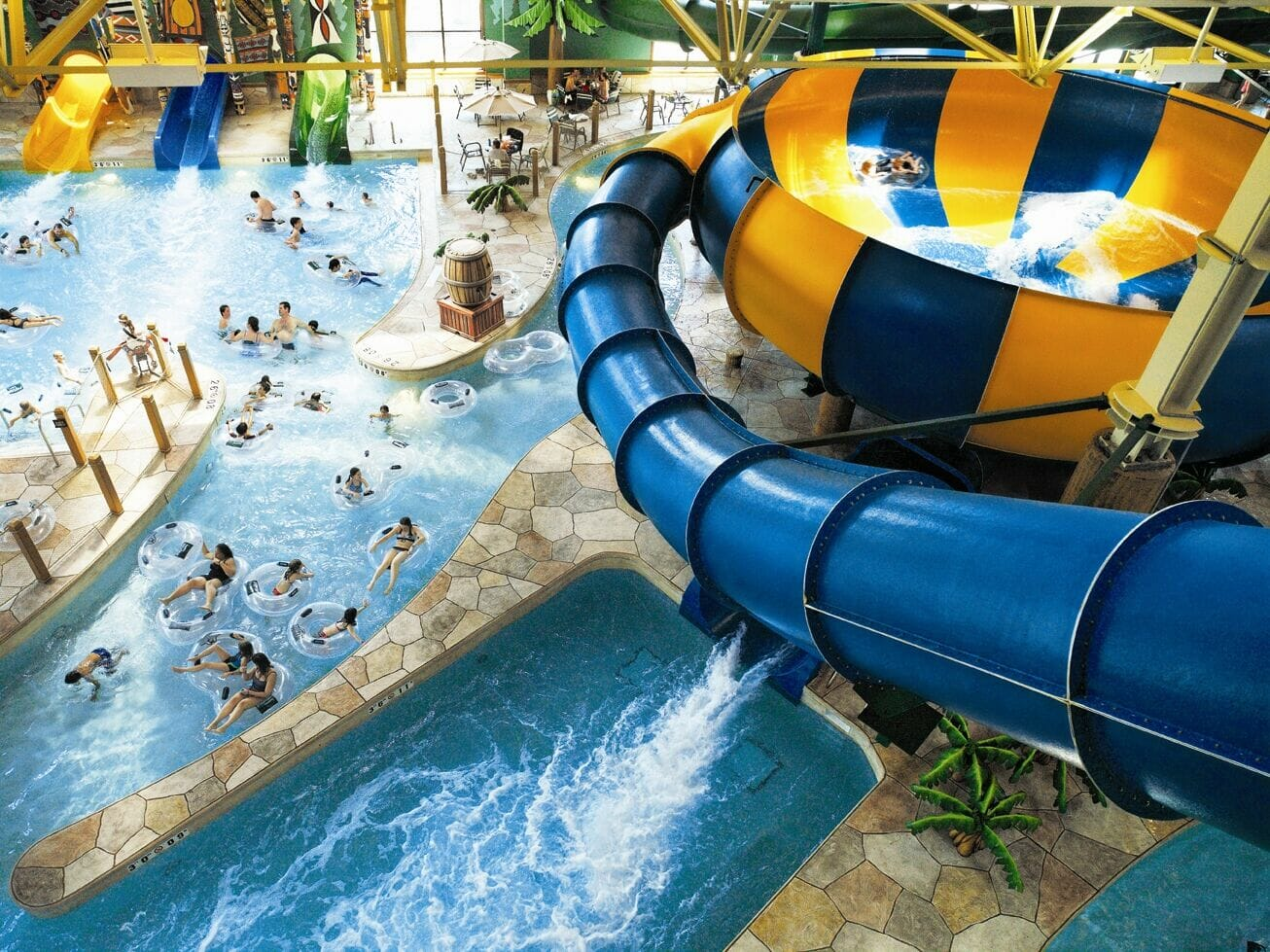 Enjoy Great Wolf Lodge Waterpark