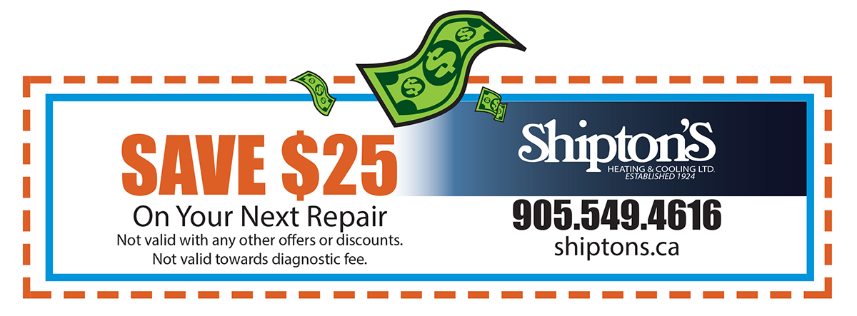 Save $25 on your next repair - Coupon