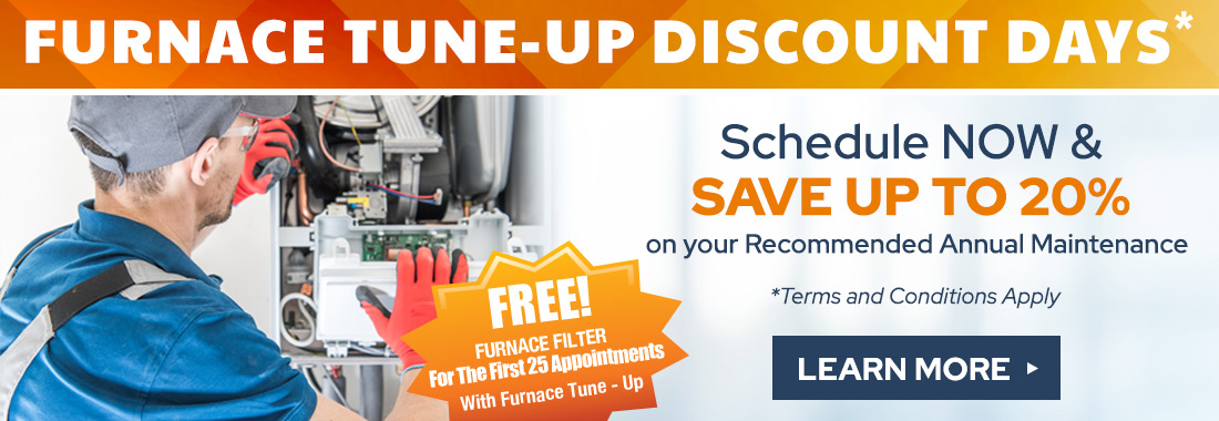 Furnace Tune-Up - Save up to 20% on Recommended Annual Maintenance