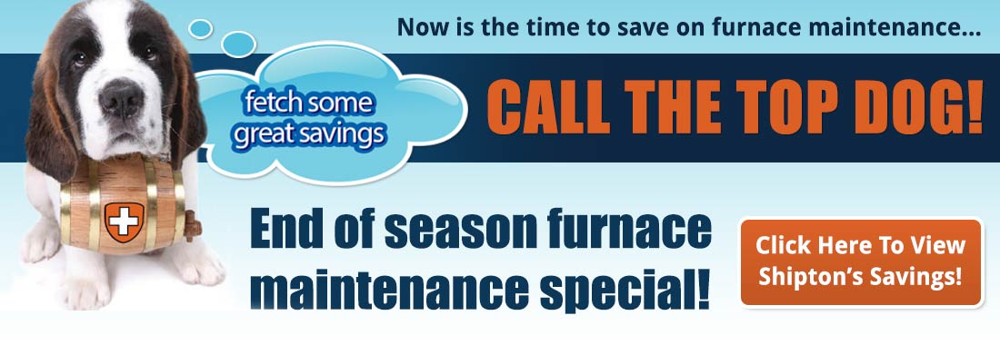 Furnace maintenance savings