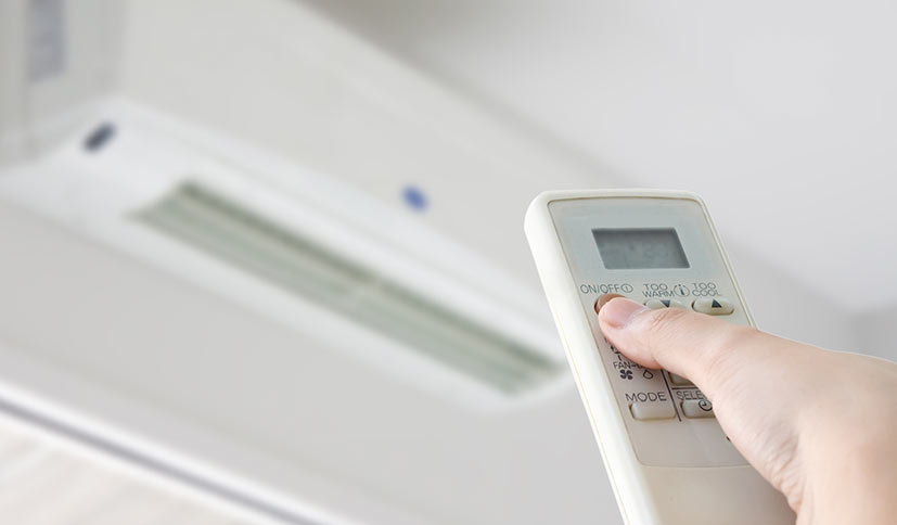 Control against excessive heat and humidity