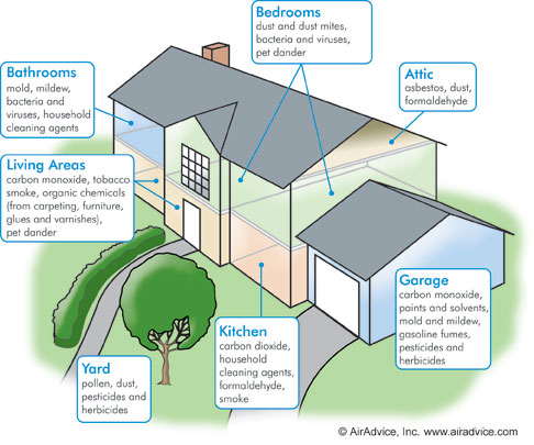Air Quality Testing in Your Home