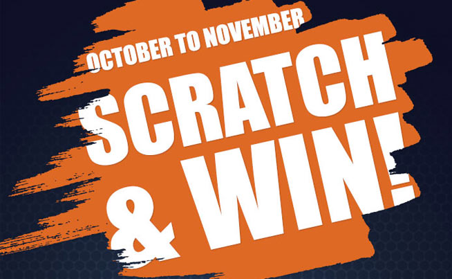 Scratch & Win with Shipton's