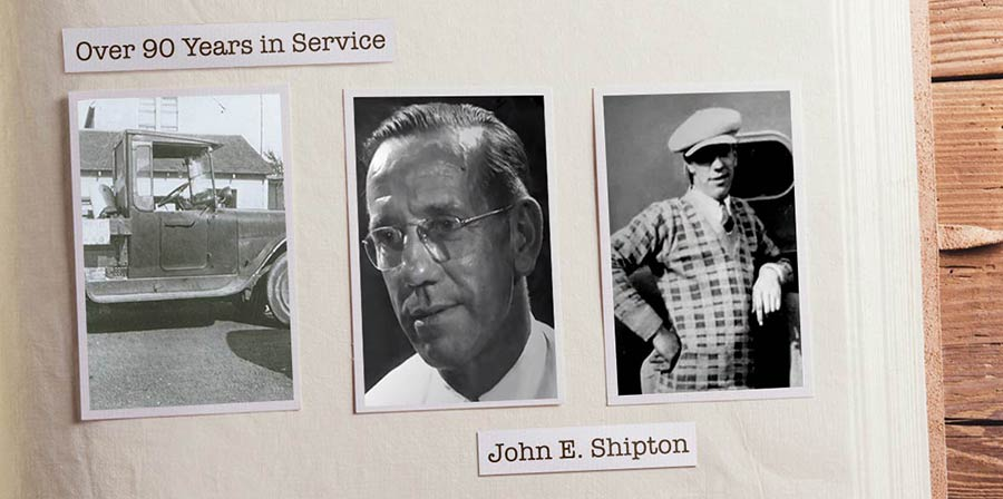 Shipton's - Over 90 Years In Service