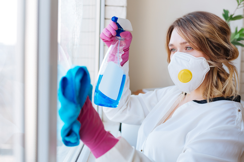 How to disinfect your home and HVAC system after a COVID-19 outbreak.